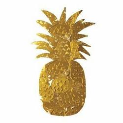 Aladine Izink Glitter -koristeet, Gold Pineapple