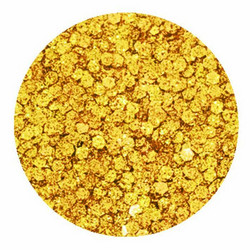 Aladine Izink Glitter -koristeet, Gold Dots