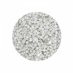 Aladine Izink Glitter -koristeet, Silver Dots