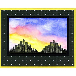 Stampendous leimasinsetti Sunrise Sunset