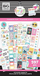 Mambi Happy Planner Value -tarrapakkaus Summer Fun