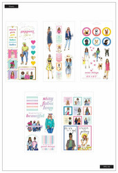 Mambi Happy Planner tarrat Girls Support Girls, Rongrong