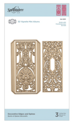 Spellbinders stanssisetti Decorative Edges & Spines