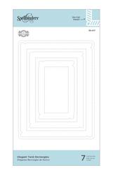Spellbinders stanssisetti Elegant Twist Rectangles