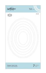 Spellbinders stanssisetti Elegant Twist Ovals