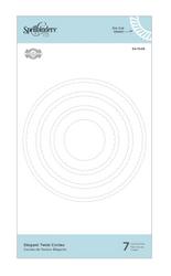 Spellbinders stanssisetti Elegant Twist Circles