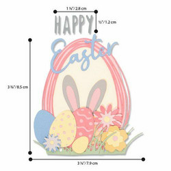 Sizzix Thinlits stanssisetti Easter Sentiments