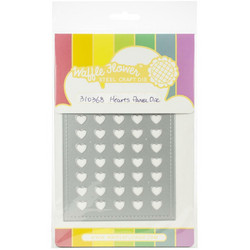 Waffle Flower stanssi Hearts Panel