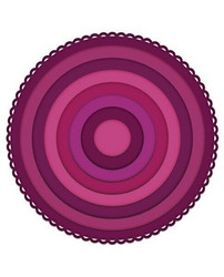 Heartfelt Creations Eyelet Circle & Basics Small -stanssisetti