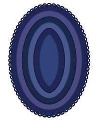 Heartfelt Creations Eyelet Oval & Basics Large -stanssisetti