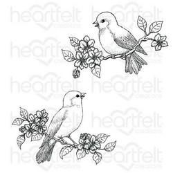 Heartfelt Creations Floral Song -leimasinsetti