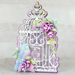 Heartfelt Creations Decorative Cage -stanssisetti