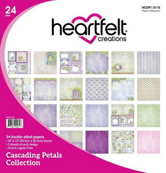 Heartfelt Creations I Want It All -paketti: Cascading Petals