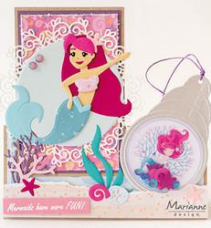 Marianne Design Shaker kuvut, pieni ympyrä, 10 kpl