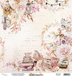 Mintay skräppipaperi Dear Diary 01