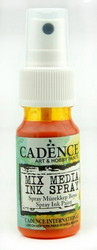 Cadence Mix Media Ink Spray, sävy Orange