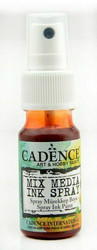 Cadence Mix Media Ink Spray, sävy Dark Orange