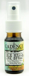 Cadence Mix Media Ink Spray, sävy Black