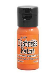 Distress Paint -akryylimaali, sävy carved pumpkin