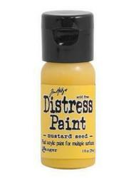 Distress Paint -akryylimaali, sävy mustard seed