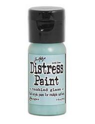 Distress Paint -akryylimaali, sävy tumbled glass