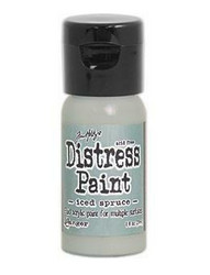 Distress Paint -akryylimaali, sävy iced spruce