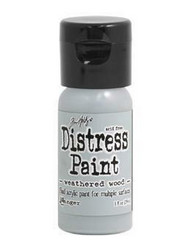 Distress Paint -akryylimaali, sävy weathered wood