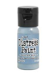 Distress Paint -akryylimaali, sävy stormy sky