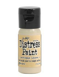 Distress Paint -akryylimaali, sävy antique linen