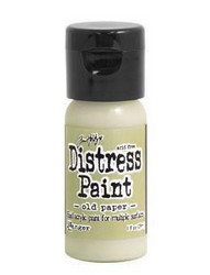Distress Paint -akryylimaali, sävy old paper