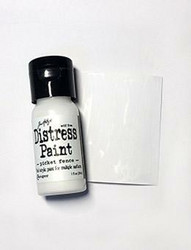 Distress Paint -akryylimaali, sävy picket fence