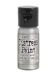 Distress Paint -akryylimaali, sävy brushed pewter