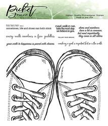 Picket Fence leimasin Walk, Crawl or Run