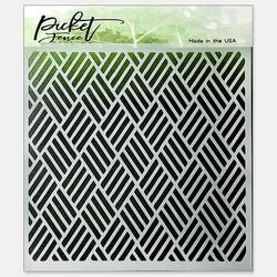 Picket Fence sapluuna Triple Weave