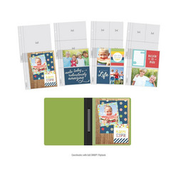 Sn@p! Flipbook 6x8 Pocket Pages, Multi Pack, 10 kpl