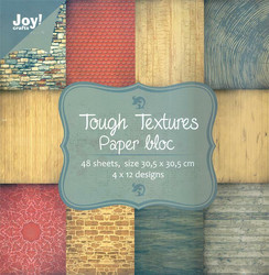 Joy! crafts Noor!Design paperipakkaus Tough Textures, 12