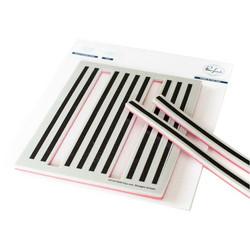 Pinkfresh Studio leimasinsetti Pop-Out Straight Stripes