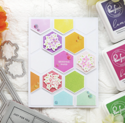 Pinkfresh Studio stanssi Simply Hexagons