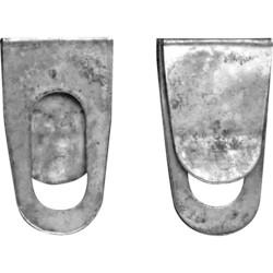 Tim Holtz Idea-Ology Metal Index Clips -clipsit, 24 kpl