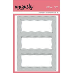 Uniquely Creative stanssisetti Stitched 3 Window Frame