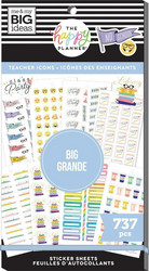 Mambi Happy Planner Value -tarrapakkaus Teacher Icons BIG