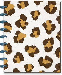 Mambi Classic Happy Notes -muistikirja, Leopard