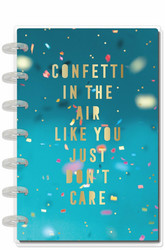Mambi Mini Horizontal Planner -kalenteri, Confetti In The Air Celebrate