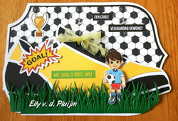Dutch Doobadoo Card Art Soccer Shoe -sapluuna
