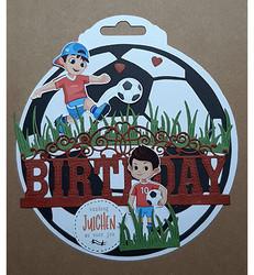 Dutch Doobadoo Card Art Soccer Ball -sapluuna