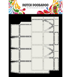 Dutch Doobadoo Box Art Milk Carton -sapluunasetti
