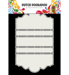 Dutch Doobadoo Card Art Iris -sapluuna