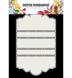 Dutch Doobadoo Card Art Iris -sapluuna