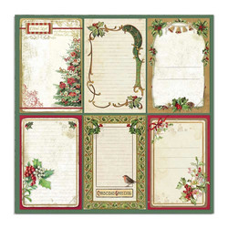 Stamperia Classic Christmas skräppipaperi Cards
