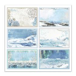 Stamperia Arctic Antarctic skräppipaperi Cards